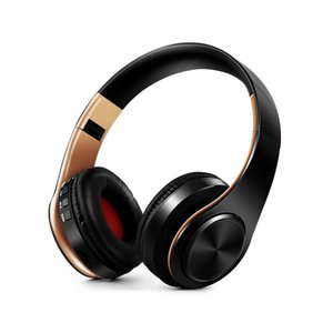 4 In 1 Subwoofer Hareket Kulaklıklar Mikrofon Kulaklık 3.5mm Yüksek kalite 4.0 Bluetooth Kulaklık Katlanabilir Kulakiçi Mic Toptan ve perakende