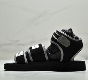 2019 nuove signore di modo sexy sandali piatti talloni delle signore pantofole doppie moda design di marca estate sandali da spiaggia casual
