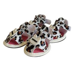 Pet scarpe estive comodo pelle traspirante Puppy Fornitori sandali di animali