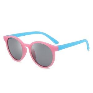 Peso leve KIDS Crianças Óculos de Armação Moda UV resistente óculos Óculos anti-ultravioleta Polarizing óculos de Sol Lente 9059