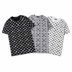 Vente en gros 2020 rue design été coton d'Europe de haute qualité des hommes de la mode marque T-shirt décontracté à manches courtes T-shirt