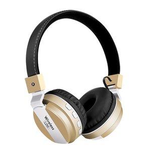 mosunx portátil inalámbrico Bluetooth 4.2 estéreo plegable del auricular Micrófono incorporado Reducción de ruido Cancelación de Eco