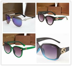 Square Frame Flat Top Top nuovi occhiali da sole Moda Uomo Donna Retro Occhiali da sole Occhiali Oculos De Sol gg