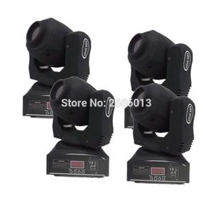 4pcs / lot 높은 밝기 60W LED 자리 이동 머리 빛 / 60W LED 스포트 라이트 / DMX512 60W 패턴 조명 / LED Gobo 파티 DJ 조명