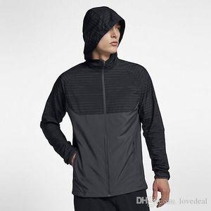2020 New Sale Men's Hoodies jackets coat Fall Thin Windrunner Light Windbreak Zipper Hoodies running jogger Men's sports Outerwear Coats