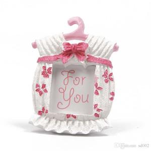 수 지 포토 프레임 섬세 한 베이비 샤워 호의 미니 옷 걸이 어린이위한 보름달 보름달 생일 파티 선물 3 6lyC1