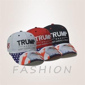Der heiße Verkauf Trump Baseballmütze Amerikanische Wahlwahlkappe USA Eagle Trumpf Hut Partyhüte T9I00337