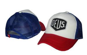 Новый летний Бейсбол Mesh Cap Deus Ex Machina Baylands Trucker Snapback папа Hat Мода Регулируемая 6 Панель Hat Хип-хоп Бог Молиться Женщины Мужчины Cap