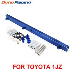 Yüksek debi Toyota 1JZ Top için Alüminyum Yakıt Raylı Setleri Enjektör Yakıt Rail beslemek