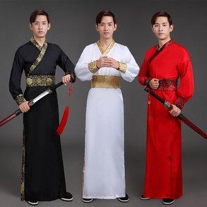 Hommes Hanfu Vêtement traditionnel chinois ancien Hanfu Hommes Costume festival Tenue de représentation théâtrale Vêtements Costumes de danse folklorique