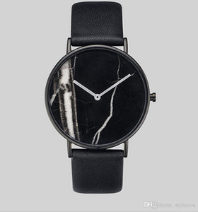 2019 Fashion Top Famous the horse Man watch genuine leather wristwatch Women casual Dress Watch Quartz Clock Steel lovers' watch gift R