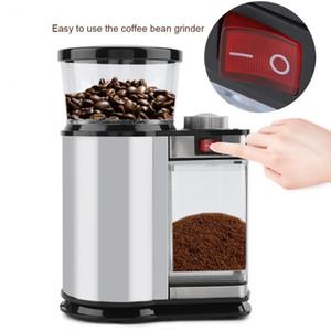 전기 커피 분쇄기 밀 허브 너트 소금 후추 분쇄기 강력한 스파이스 씨앗 수동 수제 커피 콩 밀 허브 너트