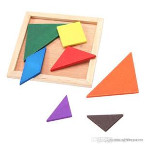 hxldoor al por mayor KIds Rompecabezas Rompecabezas de madera del rompecabezas chino para la Educación juguete de desarrollo Marca caramelo lindo juguete