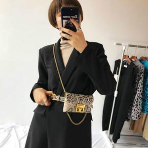Designer Luxury Waist Bag Women Chain Bags Classic Shoulder Bags Retro Portable Serpentine Phone Bags Crosscody