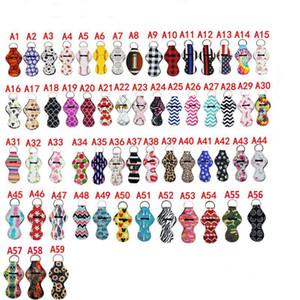 59 Farben Muster Lily Druck chapstick Halter Keychain Lily mermaid Lip Beutel Farben Monogramm Mehr Chevron Ketten