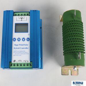 Billig Wind Solar Hybrid Controller MPPT-Ladevorladung für 1000W 800W Windturbinengenerator + 400W 300W Solarpanel