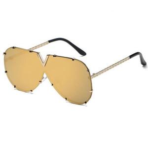 Gelgit Marka Gözlük Moda Gözlük Avrupa Ve Amerika Siyam Tek Parça Güneş Gözlüğü kadın Gözlük erkek V-şekilli Güneş Gözlüğü