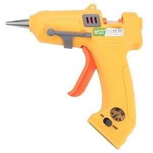 SD-802 Внешний USB зарядка Интерфейс Glue Gun Портативный беспроводной перезаряжаемый Hot Melt Glue Gun Инструменты