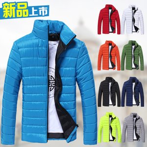 Autumn And Winter Hot Selling Male Padded Korean-style Slim Fit Solid Color Men's Long-Sleeve Cotton-padded Clothes Men'S Wear