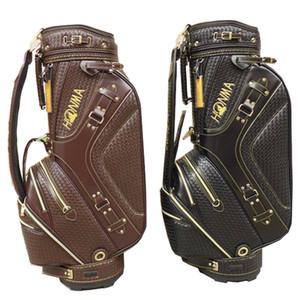 جديد حقائب الغولف الذكور HONMA PU حقيبة العربة في اختيار 9.5 بوصة نادي الغولف حقيبة الكرة القياسية الحرة الشحن