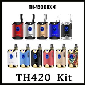 100٪ الأصل kangvape TH-420 ii كاتب كيت 650 مللي أمبير vv TH420 2 بطارية مربع mod 0.5 ملليلتر خرطوشة النفط السميك مقابل نورد نوفو كيت