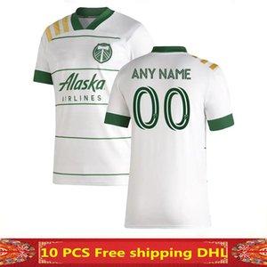 크기 : S-XXL 2019 MLS 남성 포틀랜드 팀 버스 홈 축구 유니폼 2019 2020 MLS BLANCO CHARA 발렌틴 발레리 MEN 축구 셔츠