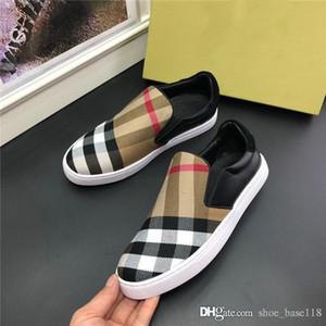 Последние мужчины повседневная обувь, классический плед низкие топы для мужчин стильный и дышащий открытый путешествия плоская база кроссовки размер 38-44