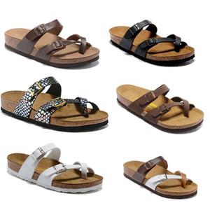 Mayari 2020 Yeni stil Yaz Plaj Mantar Terlik Flop'lar Sandalet Kadınlar MEN Renk Casual Slaytlar Ayakkabı Düz Ücretsiz Kargo 35-46 çevirin