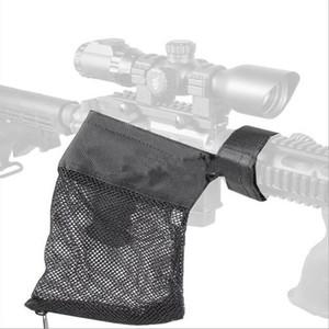 AR-15 Tactical Munição de Bronze Shell Catcher Armadilha De Malha Com Zíper Encerramento Munição Bolsa de Malha de Nylon Saco de Malha de Nylon Caça Acessórios
