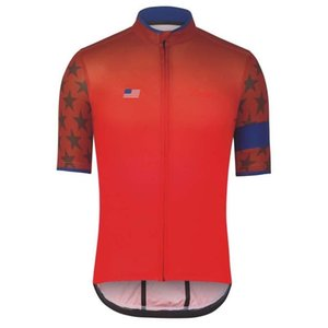 Nouveau 2019 RAPHA cyclisme court respirant manches jersey hommes été Sports de plein air Top séchage rapide Wear 3045175