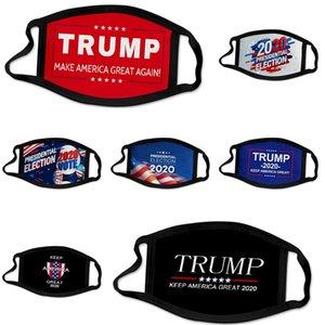 Designer Trump Face Mask 5 Schichten Cartoon-Gesichtsmasken mit Filter Entlüftungsventil PM2.5 Anti-Fog Staubmasken Kinder Staubdichtes Schutz M # 93