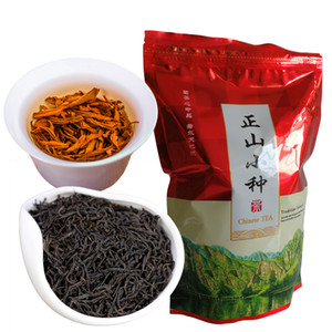 Duman Kırmızı Çay Sıcak Mide Sağlık Yeni Pişmiş çay olmadan Tercihi 250g Çin Organik Siyah Çay Wuyi Üst Sınıf Lapsang Souchong