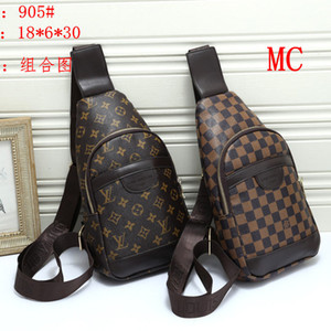 Neue Trend Unisex Fashion Luxury Umhängetasche Frauen Marke Cross Body Herren Chest Bag 2 Farben Grundaußenfanny Bumbag Xaa B105111Z
