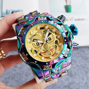 2020 HK duty free shop INVICTA brand DC Comics Joker Joint production Model:30124 Complete Calendar Men's Quartz watch Dropshipping