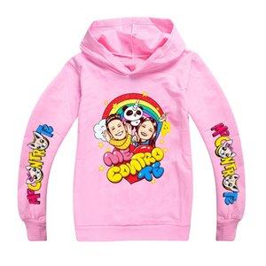 New Fashion Kids Sport Kids Sweatshirt Boys Girls Me Contro Te Cosplay Costumes Long Sleeve Hoodies T-shirt Hooded Clothes Y200704