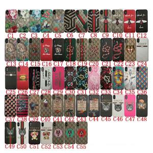 cassa del telefono mobile di disegno di marca stampata fiore gatto serpente tigre per l'iphone 11 11Pro max Xs max X Xr 7 7plus 8 8plus 6 6plus copertura posteriore dura