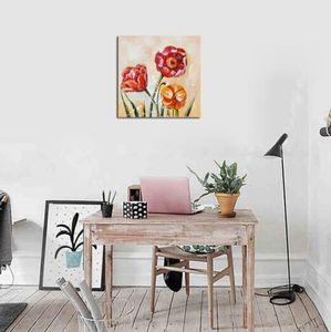 2019 بالجملة شحن مجاني المبيعات الساخن 1 PC الإطار الحديثة أسلوب ملخص مصنع Flowerbed النافثة للحبر الطباعة
