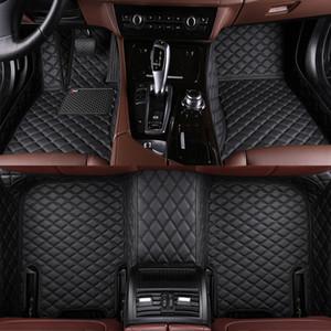 Kia Sorento Sportage Optima K5 Forte Cerato K2 K4 K3 Cadenza deri halı gömlekleri Kaymaz Araba Liner için yapılmış araba paspaslar