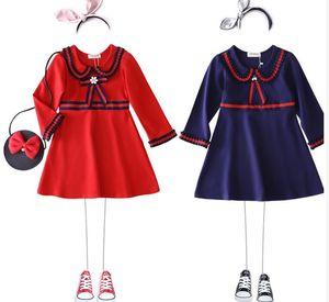 Meilleures ventes filles haut de gamme robe de vente les meilleures filles haut de gamme de printemps nouveaux enfants 2019 robe 2019 filles printemps nouveaux vêtements pour enfants Rom