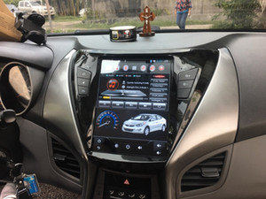 Vertical 10.4 inch HD IPS Screen Android Car Multimedia Bluetooth Radio GPS WIFI for Hyundai Elantra 2012 2013 2014 2015 2016