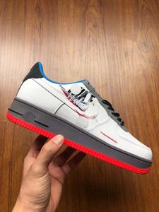 top quality SB Originals Scott Bluebird x Force AF1 Dark Slate Sneakers zx 750 Black Red Green Running Shoes Size 36-44