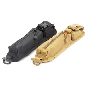 Tactical Molle Kit de Sobrevivência Kits de Primeiros Socorros Mochila Ao Ar Livre Saco de Ombro EDC Toolkit Acessório Cáqui E Preto 18ln O1
