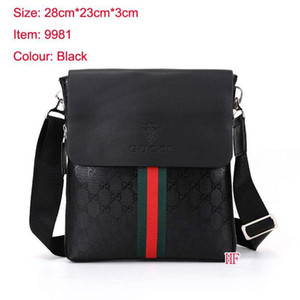 8 estilo de la moda de los hombres bolsos de hombro de la cartera del negocio de alta calidad de los hombres de la Cruz cuerpo bolsa de mensajero de lujo