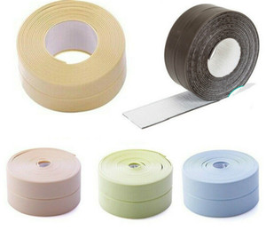 Bath parede Sealing Strip, impermeável auto-adesivo Cozinha Caulk Tape Banho