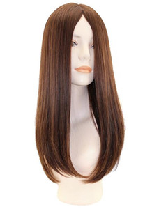 10A Grade Human Hair Brown Color Best Sheitels 4x4 Silk Top Jewish Wigs Finest European Virgin Straight Hair Kosher Wig Free Shipping