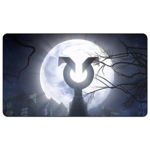 Magic Board Game Playmat:mtg shadow over innistrad 60*35cm size Table Mat Mousepad Play Matwitch fantasy occult dark female wizard
