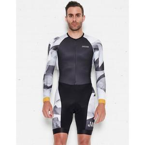 سباق الدراجات Jaggad نادي محترفين TEAM AERO CYCLING SKINSUIT الترياتلون دعوى أفضل نوعية دراجة مجموعة قصيرة KIT مع PAD عالية الكثافة