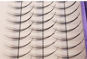 Alta Calidad Pteris Clouds Hair 5d Lashes Flat Individual Extensión de Pestañas Falsas Grueso Falso de Ojo Falso 8mm a 13 Mm
