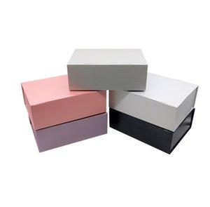 Caja de embalaje bolsos del favor del papel simples regalo del partido vestido de novia caja de regalo de cumpleaños de vacaciones Diseño alta calidad del regalo Bolsas
