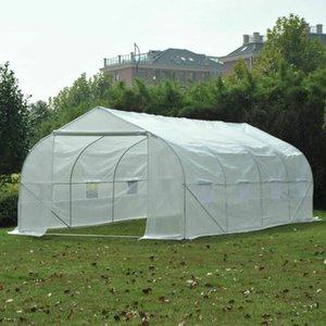 Portátil 20'x10'x7' Heavy Duty B2 Greenhouse Walk-In Green House Planta Jardim